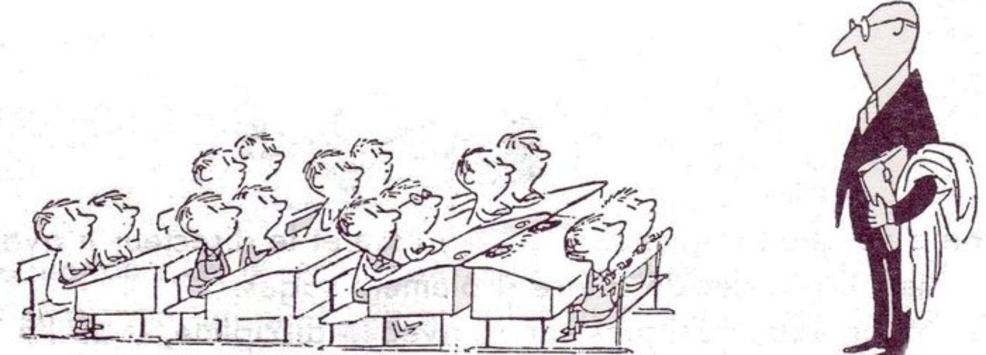 La classe d'histoire-géographie...